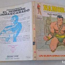 Cómics: COMIC: NAMOR Nº 32. UN SUBMARINO DORADO. Lote 194199532
