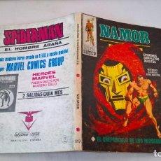 Cómics: COMIC: NAMOR Nº 23. EL CREPUSCULO DE LOS PERSEGUIDOS. Lote 194199901