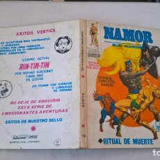 Cómics: COMIC: NAMOR Nº 18. RITUAL DE MUERTE. Lote 194200191