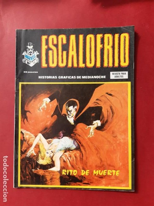 ESCALOFRIO -Nº53- VERTICE VOLUMEN 1-BUEN ESTADO (Tebeos y Comics - Vértice - V.1)