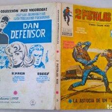 Cómics: COMIC: 2 PISTOLAS KID Nº 3 LA ASTUCIA DE UN ZORRO. Lote 194203570
