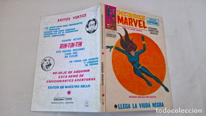 COMIC: HEROES MARVEL Nº 5 : LLEGA LA VIUDA NEGRA (Tebeos y Comics - Vértice - V.1)