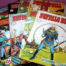 Cómics: BUFFALO BILL (MUNDI-COMICS) NºS 01,03,04,05,06,07,09 Y 10.. Lote 194207385