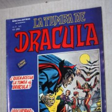 Cómics: LA TUMBA DE DRACULA - ESCALOFRIO- (MUNDI-COMICS) VOL.2; Nº02. Lote 194207695