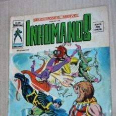 Cómics: LOS INHUMANOS - SELECCIONES MARVEL- (MUNDI-COMICS) VOL.1; Nº01. Lote 194208305