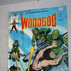 Cómics: WOODGOD -LOS INSUPERABLES.- (MUNDI-COMICS) VOL.1; Nº35. Lote 194209325