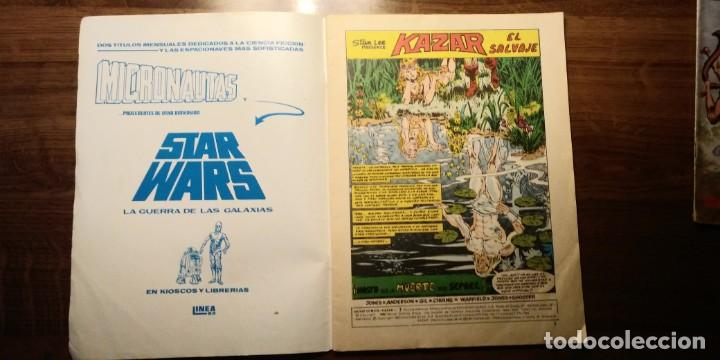 Cómics: KAZAR NºS 7 Y 8. EDICIONES SURCO. VERTICE. AÑOS 80 - Foto 3 - 194217015