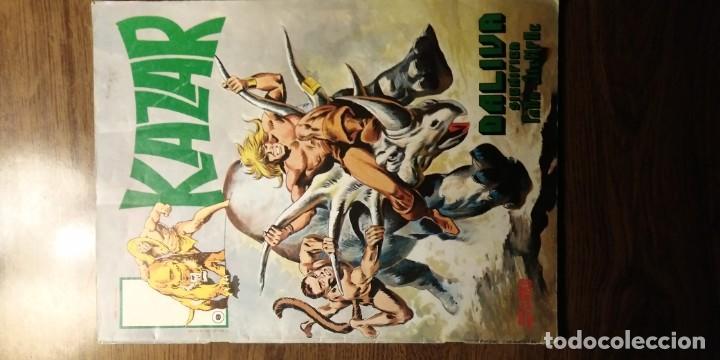 Cómics: KAZAR NºS 7 Y 8. EDICIONES SURCO. VERTICE. AÑOS 80 - Foto 7 - 194217015