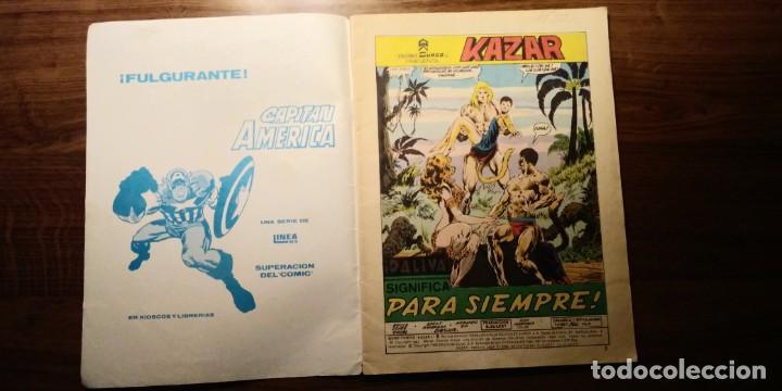 Cómics: KAZAR NºS 7 Y 8. EDICIONES SURCO. VERTICE. AÑOS 80 - Foto 8 - 194217015