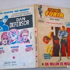 Cómics: COMIC: CORONEL FURIA Nº 5, UN MILLON DE MEGATONES. Lote 194227533