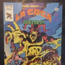 Cómics: SÚPER HEROES VOL.2 N.114 . LA COSA Y HERCULES . EL HERMANO BENJAMIN GRIMM . ( 1974/1980 ).. Lote 194235046