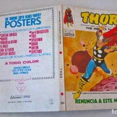 Cómics: COMIC: THOR Nº 29. RENUNCIA A ESTE MUNDO. Lote 194238538