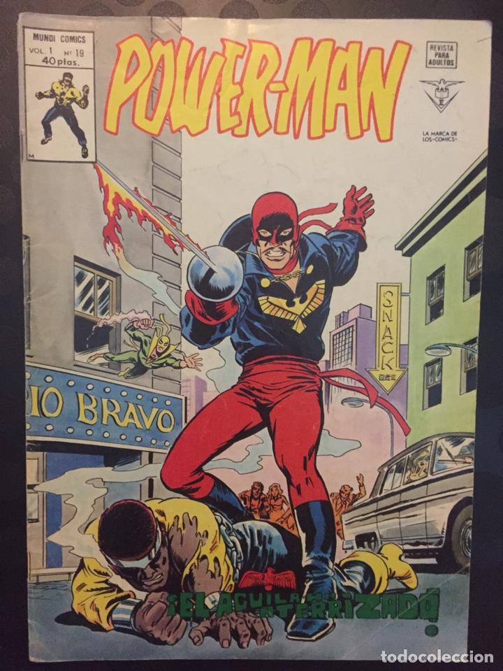 POWER MAN VOL.1 N.19 . EL ÀGUILA HA ATERRIZADO . ( 1977/1981 ). (Tebeos y Comics - Vértice - Otros)