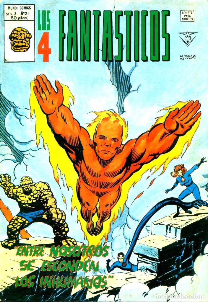LOS 4 FANTÁSTICOS V3-25 (VERTICE) (Tebeos y Comics - Vértice - 4 Fantásticos)
