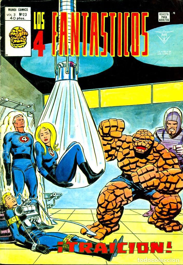 LOS 4 FANTÁSTICOS V3-23 (VERTICE) (Tebeos y Comics - Vértice - 4 Fantásticos)