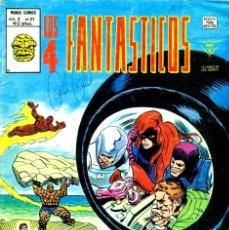 Cómics: LOS 4 FANTÁSTICOS V3-21 (VERTICE). Lote 194247192