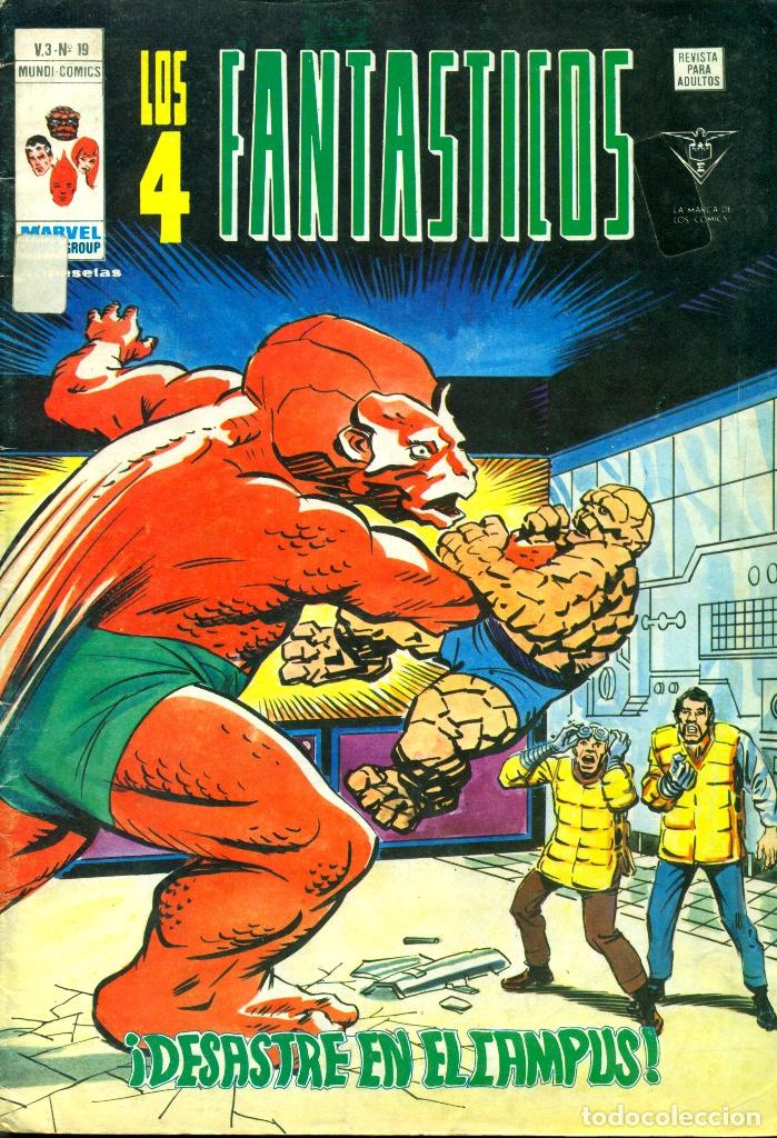 LOS 4 FANTÁSTICOS V3-19 (VERTICE) (Tebeos y Comics - Vértice - 4 Fantásticos)