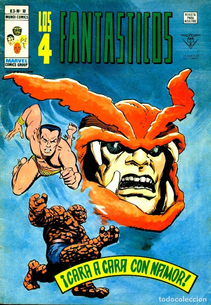 LOS 4 FANTÁSTICOS V3-18 (VERTICE) (Tebeos y Comics - Vértice - 4 Fantásticos)