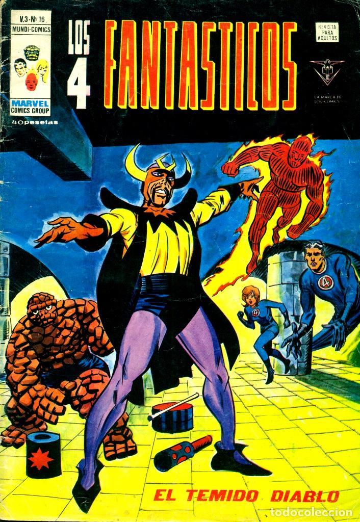 LOS 4 FANTÁSTICOS V3-16 (VERTICE) (Tebeos y Comics - Vértice - 4 Fantásticos)
