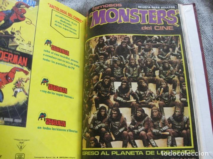 EL PLANETA DE LOS MONOS VOL 2 Nº 21 22 - 23 - 24 - 25 - 26- 27 - 28- 29 FAMOSOS MONSTERS 12 VERTICE (Tebeos y Comics - Vértice - Otros)