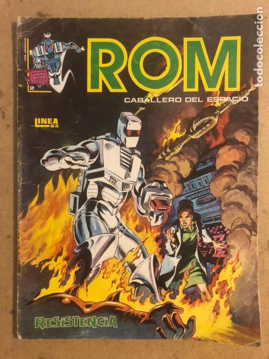 ROM CABALLERO DEL ESPACIO N° 2. MUNDI COMICS, EDICIONES VÉRTICE SURCO 1983. (Tebeos y Comics - Vértice - Surco / Mundi-Comic)