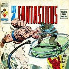 Cómics: LOS 4 FANTÁSTICOS V2-10 (VERTICE). Lote 194249835