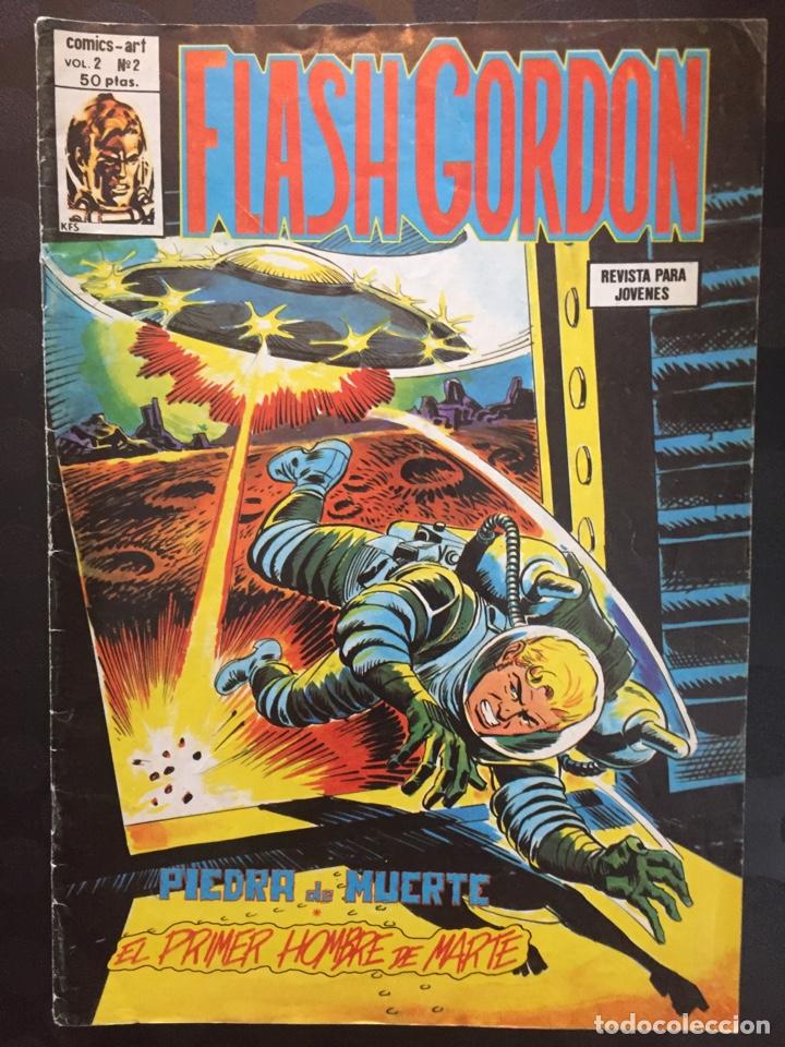 FLASH GORDON VOL.2 N.2 . EL PRIMER HOMBRE DE MARTE . ( 1980/1982 ). (Tebeos y Comics - Vértice - Flash Gordon)