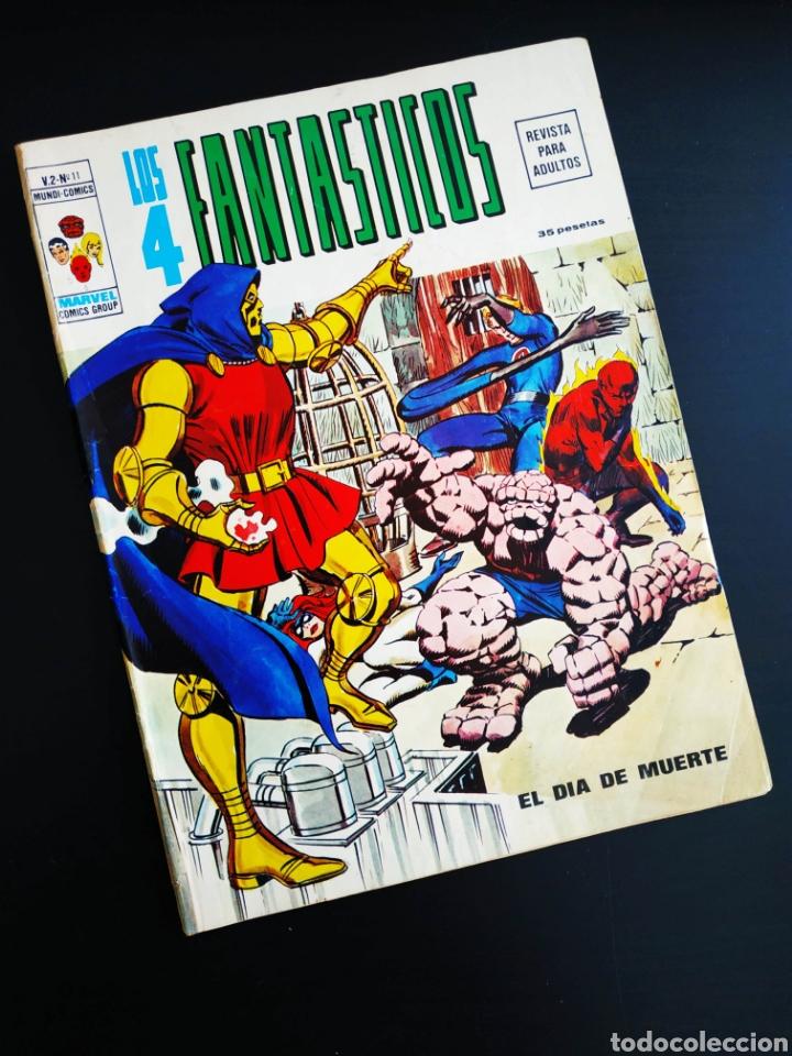 BASTANTE NUEVO LOS 4 FANTASTICOS 11 VERTICE VOL II (Tebeos y Comics - Vértice - 4 Fantásticos)
