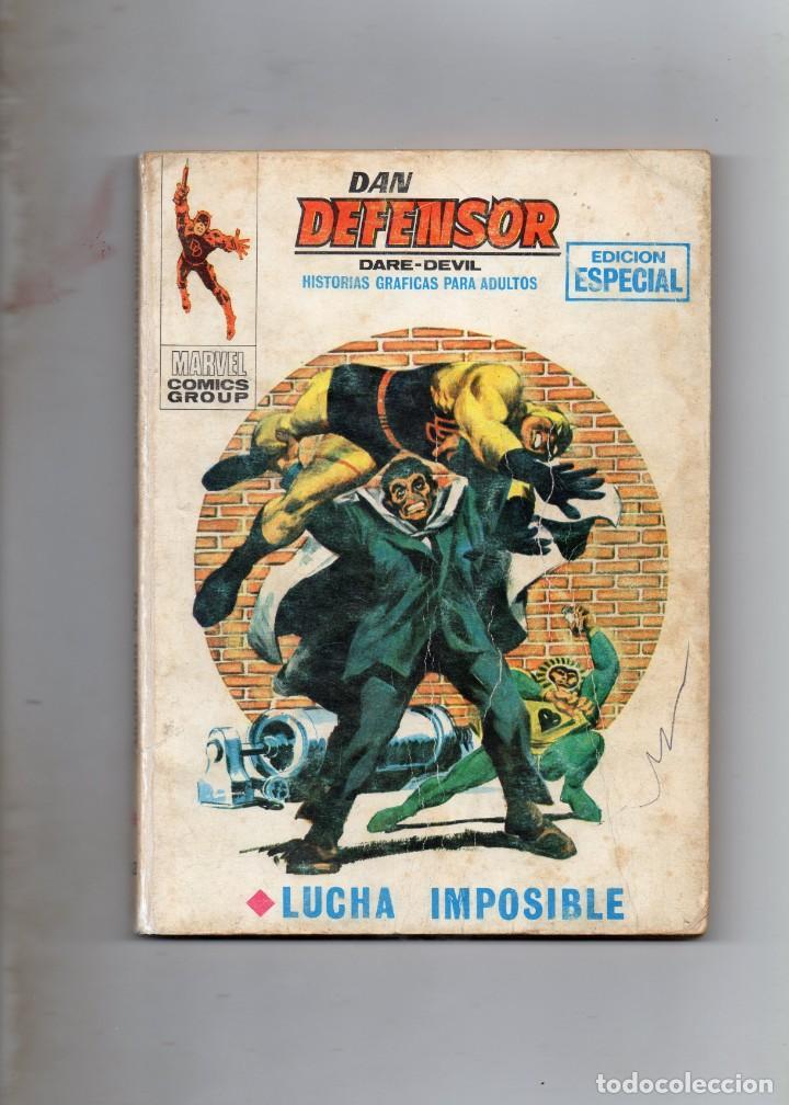 COMIS VERTICE 1970 DAN DEFENSOR VOL1 Nº 12 ( NORMAL ESTADO ) (Tebeos y Comics - Vértice - Dan Defensor)