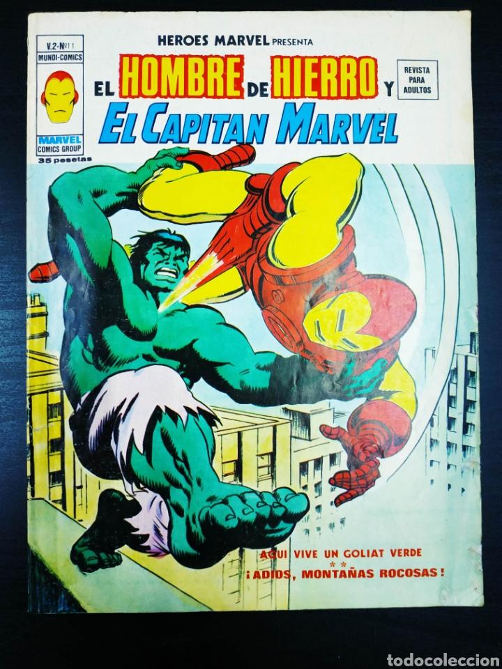 BUEN ESTADO HEROS MARVEL 11 VERTICE VOL II (Tebeos y Comics - Vértice - Hombre de Hierro)