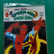Cómics: SUPER HÉROES. Nº 6. SPIDERMAN Y LA ANTORCHA HUMANA. VÉRTICE-V1-. Lote 194330918