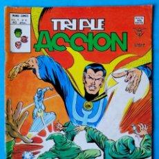 Cómics: TRIPLE ACCIÓN - V.1 - Nº 4 - ¡ SUEÑOS DE MUERTE ! - VÉRTICE 1979 . Lote 194333717