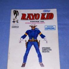 Cómics: RAYO KID Nº 1 VERTICE TACO ORIGINAL AÑO 1970 MUY DIFICIL. Lote 194333812