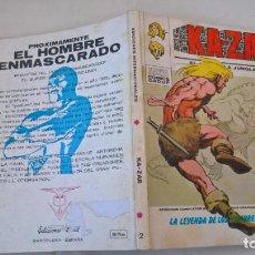 Cómics: COMIC: KA-ZAR Nº 2. LA LEYENDA DE LOS HOMBRES LAGARTO. Lote 194334009