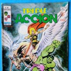 Cómics: TRIPLE ACCIÓN - V.1 - Nº 3 - ¡ MUNDO SIN FIN ! - VÉRTICE 1979 . Lote 194334480