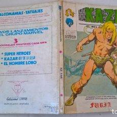 Cómics: COMIC: KA-ZAR Nº 1. FURIA. Lote 194335292