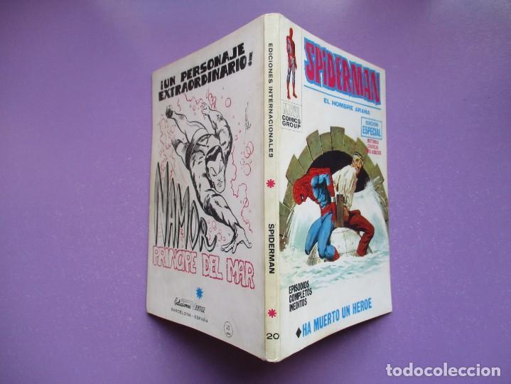 Cómics: SPIDERMAN Nº 20 VERTICE TACO, 1ª EDICION ¡¡¡¡¡¡¡ BUEN ESTADO !!!!! - Foto 3 - 194351186