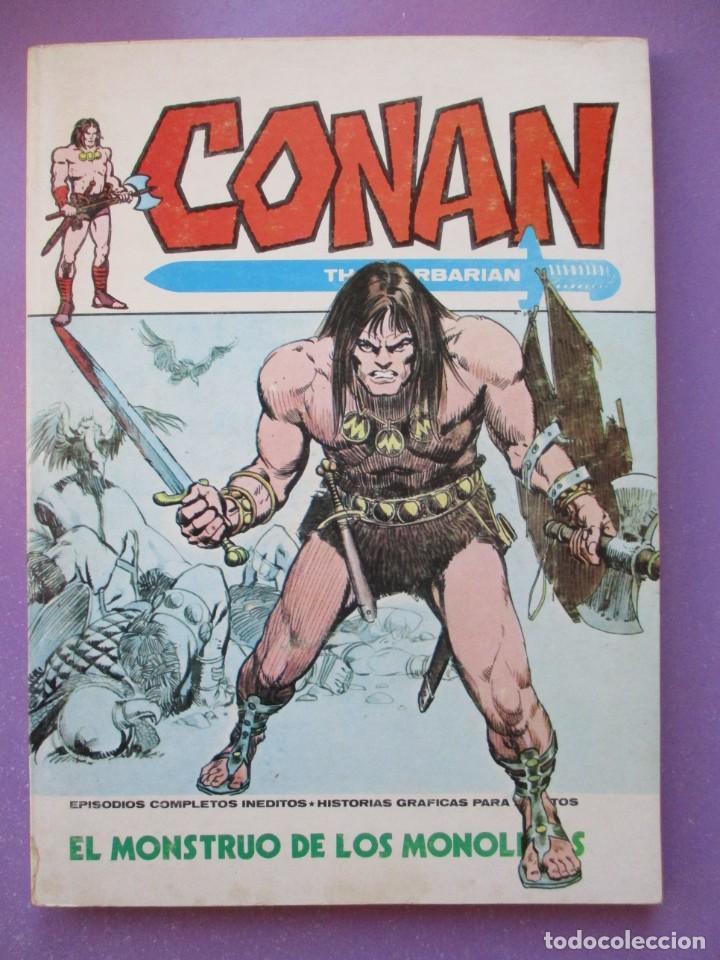 CONAN Nº 11 VERTICE TACO ¡¡¡¡ BUEN ESTADO !!!!!! (Tebeos y Comics - Vértice - V.1)