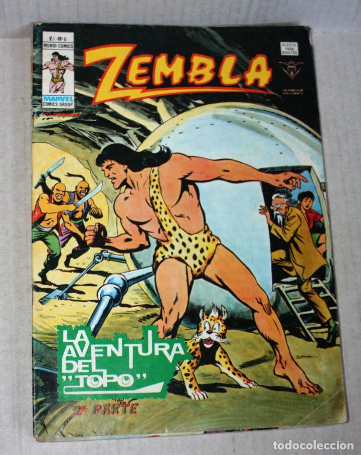 Cómics: ZEMBLA (mundi-comics) vol.1; nº 04 + 05 + 06 - Foto 2 - 194369657