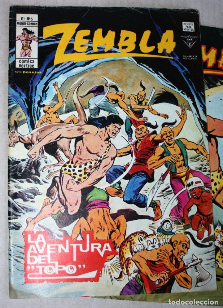 Cómics: ZEMBLA (mundi-comics) vol.1; nº 04 + 05 + 06 - Foto 3 - 194369657