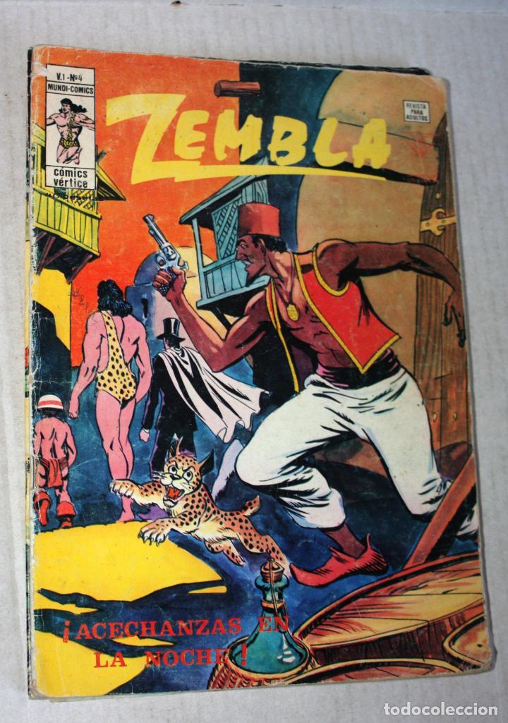 Cómics: ZEMBLA (mundi-comics) vol.1; nº 04 + 05 + 06 - Foto 4 - 194369657