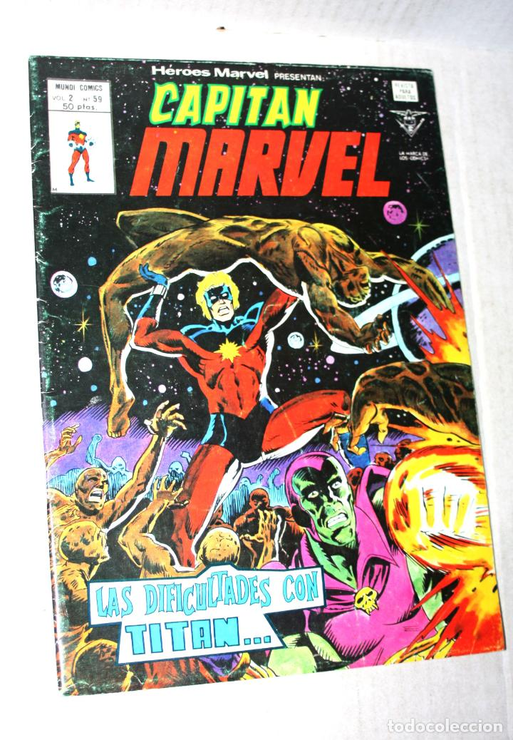 Cómics: CAPITAN MARVEL (mundi-comics) vol.2; nº 59 - Foto 1 - 194369816