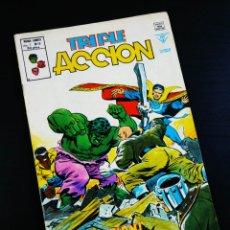 Cómics: MUY BUEN ESTADO TRIPLE ACCION 12 VERTICE. Lote 194372897