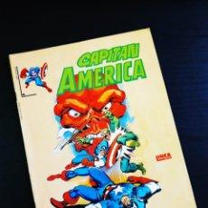 Cómics: EXCELENTE ESTADO CAPITAN AMERICA 4 VERTICE LINEA SURCO. Lote 194382315