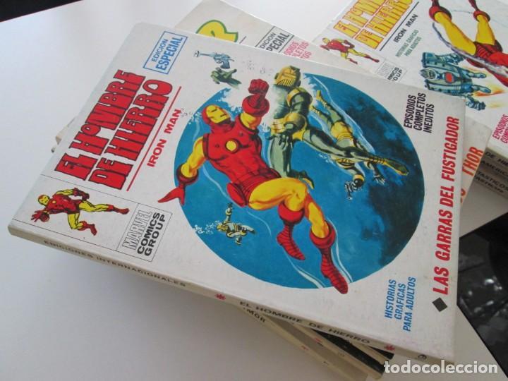 (VERTICE -V.1) EL HOMBRE DE HIERRO - Nº: 19 - MBE.- (Tebeos y Comics - Vértice - V.1)