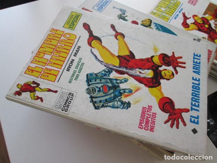 (VERTICE -V.1) EL HOMBRE DE HIERRO - Nº: 17 - MBE.- (Tebeos y Comics - Vértice - V.1)