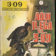 Cómics: 3 - 09 AGENTE SECRETO Nº 1. Lote 194386583