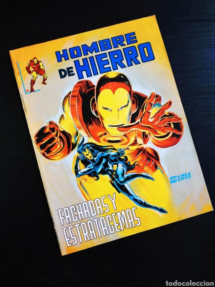 CASI EXCELENTE ESTADO EL HOMBRE DE HIERRO 6 VERTICE LINEA SURCO (Tebeos y Comics - Vértice - Hombre de Hierro)