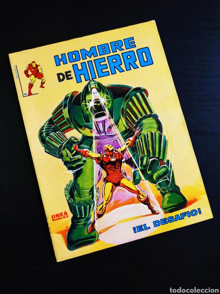 EXCELENTE ESTADO EL HOMBRE DE HIERRO 4 VERTICE LINEA 83 (Tebeos y Comics - Vértice - Hombre de Hierro)