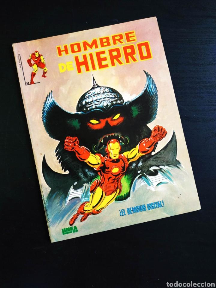 CASI EXCELENTE ESTADO EL HOMBRE DE HIERRO 2 VERTICE LINEA 83 (Tebeos y Comics - Vértice - Hombre de Hierro)